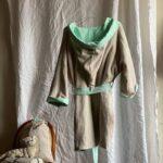 детский банный халат с капюшоном