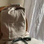 рюкзак из натурального хлопка