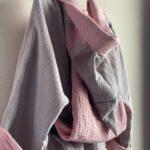халат детский розовый