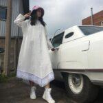 платье с винтажным кружевом