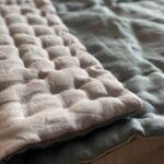 двуспальное одеяло из конопли