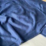трикотажная ткань синего цвета