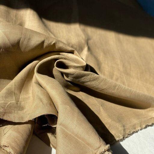 конопляная ткань песочного цвета
