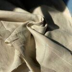 светло-бежевая конопляная ткань