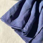 синяя конопляная ткань