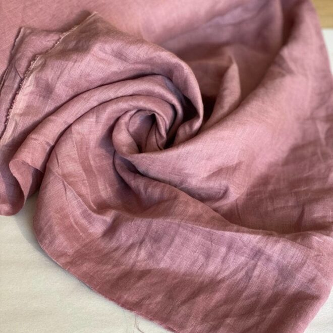 ткань лен состав