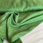 зеленая ткань