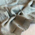 натуральная льняная ткань