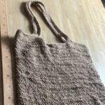 сумка связанная из джута