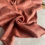 терракотовая ткань из льна