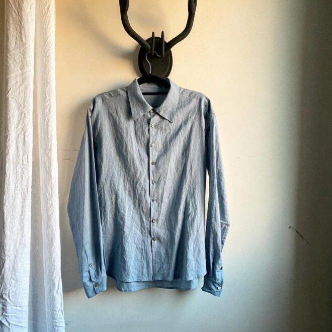 летние мужские рубашки из хлопка и льна