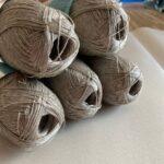 лен пряжа для вязания
