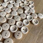 деревянные пуговицы оптом