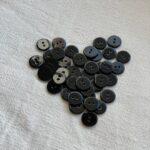 перламутровые пуговицы черные