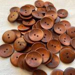 пуговицы из дерева коричневые