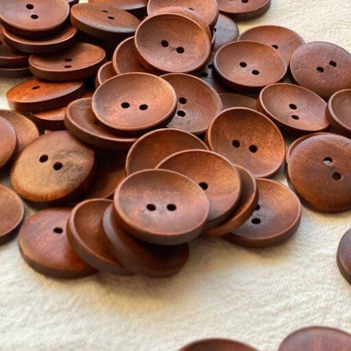 коричневые пуговицы