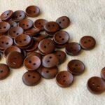 пуговицы круглые деревянные