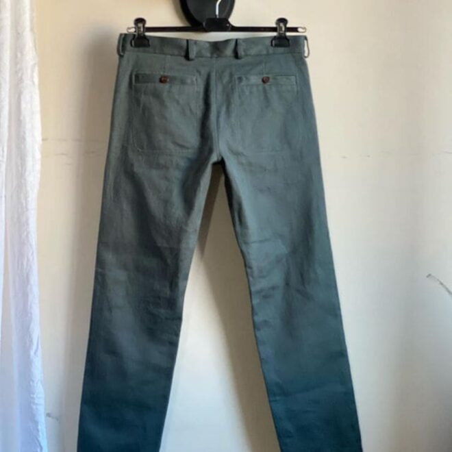 мужские джинсы из конопли