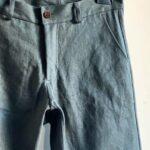 джинсы из конопляного канваса
