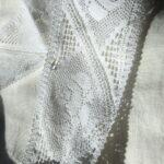 льняное кружево цвет белый