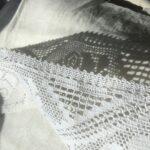 белое кружево для шитья