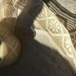 бежевое кружево для шитья одежды