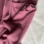 ткань из крапивы ярко-розового цвета