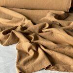 светло-коричневая ткань из крапивы