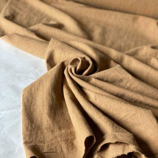 ткань из крапивы цвет светло-коричневый