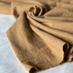 ткань из крапивы цвет табака