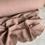 ткань из крапивы кофейного цвета