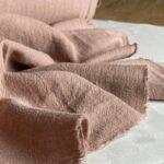 коричневая ткань из крапивы
