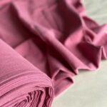 вареная ткань из крапивы ягодного цвета