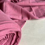 розовая ткань из крапивы