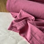 крапивная ткань розового цвета
