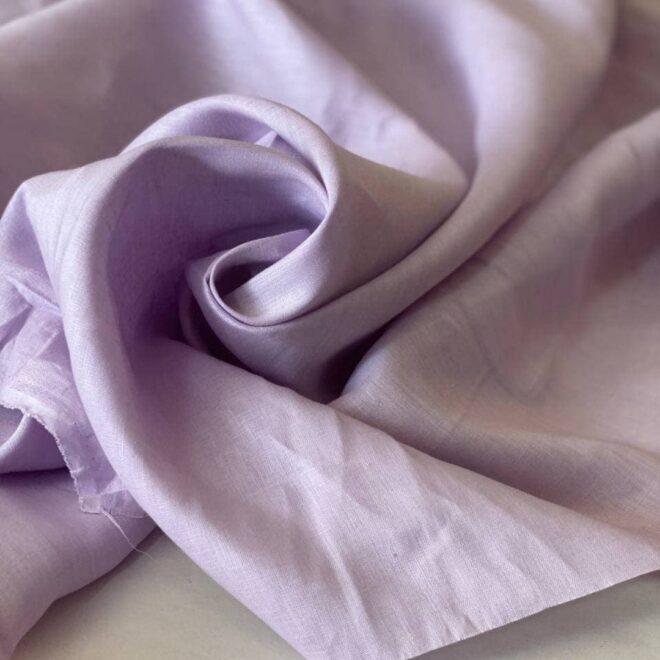 ткань цвета лаванда